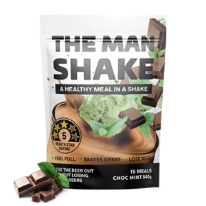 MAN SHAKE ONE WEEK SUPPLY - Choc Mint